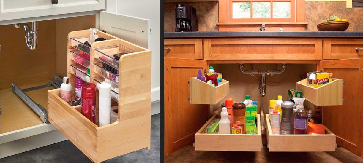 کابینت زیر ظرفشویی آشپزخانه