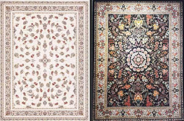 فرش رنگ تیره بخریم یا رنگ و طرح ملایم