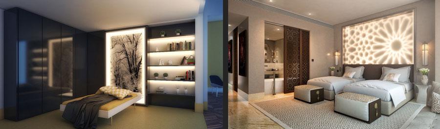 آشنایی با روش هایی برای روشن تر جلوه دادن اتاق های کم ارتفاع