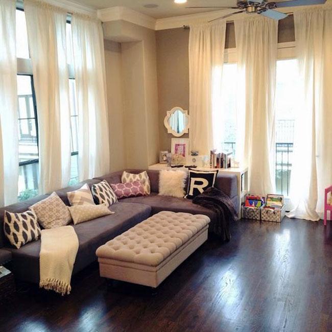 راهکارهایی برای مرتفع تر جلوه دادن اتاق