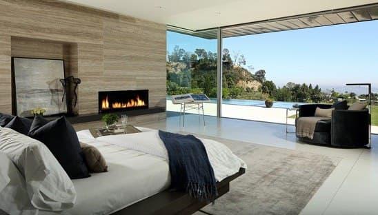 دید و منظر مناسب از تخت خواب