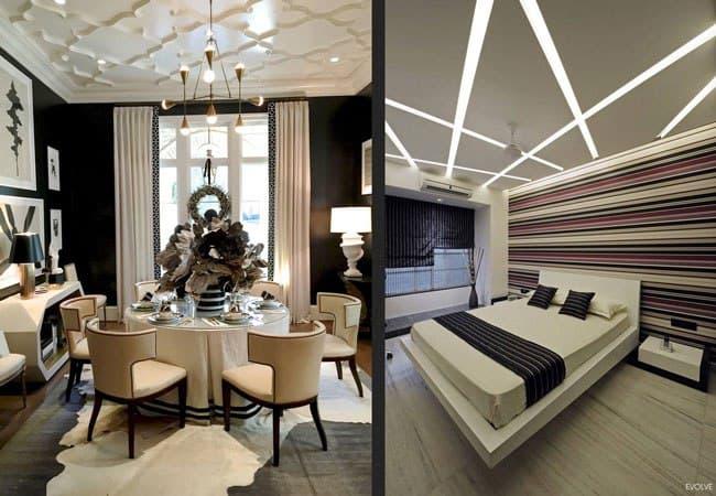 ایده هایی برای طراحی سقف خانه