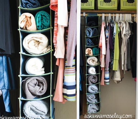 نظم دادن به کمد خانه و لباس ها