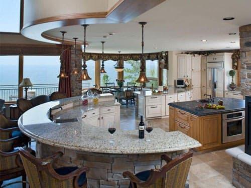مشاوره طراحی آشپزخانه جزیره ای