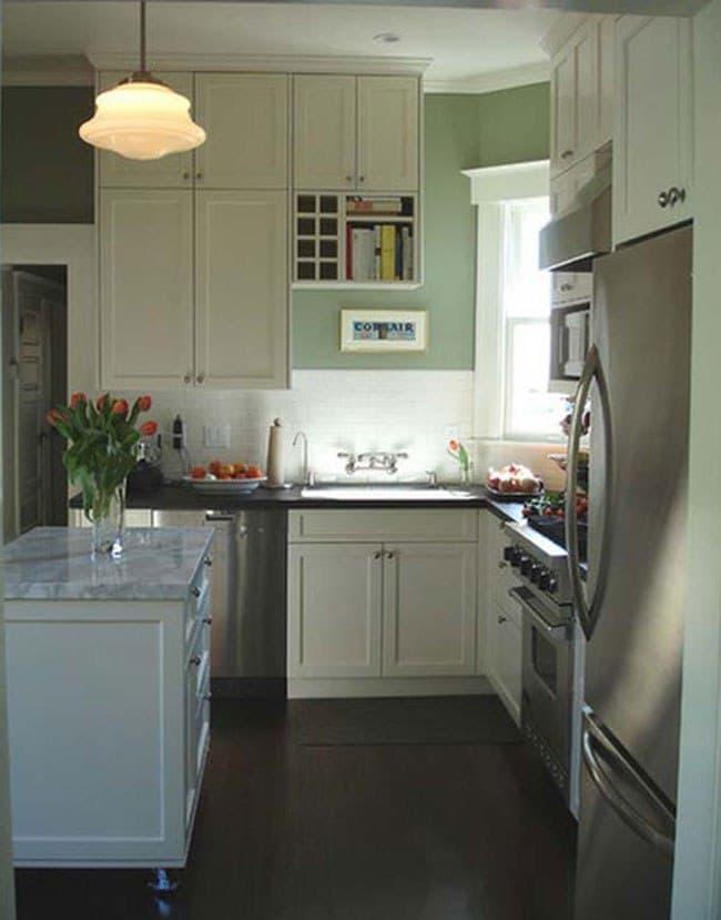 راهکارهایی برای دلباز تر شدن آشپزخانه های کوچک