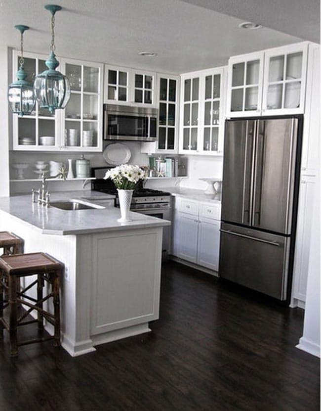 نحوه طراحی دکوراسیون آشپزخانه کوچک