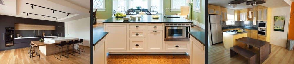 معرفی انواع مدل های جزیره برای آشپزخانه