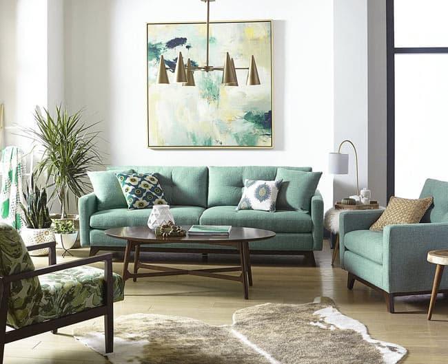 انتخاب مناسب رنگ پارچه مبل و کاناپه