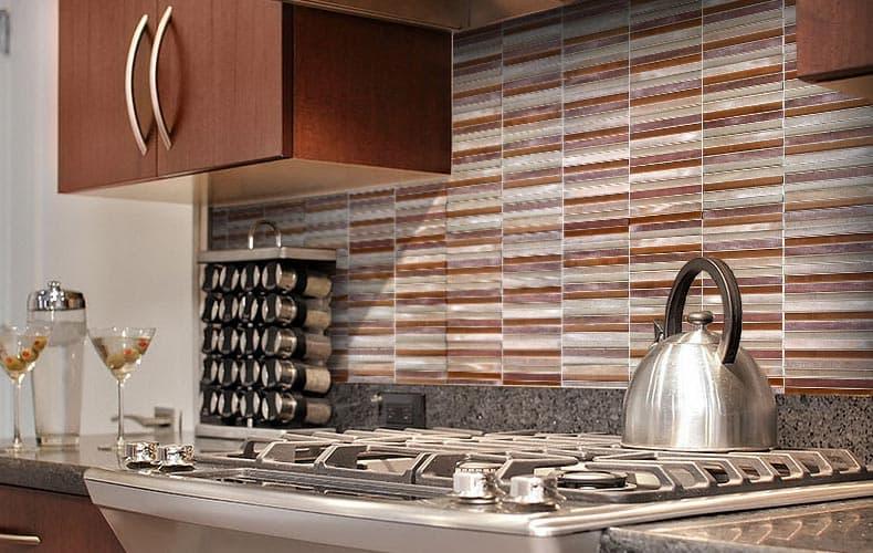 ۱۳ ایده برای طراحی دیوار پشت کابینت آشپزخانه