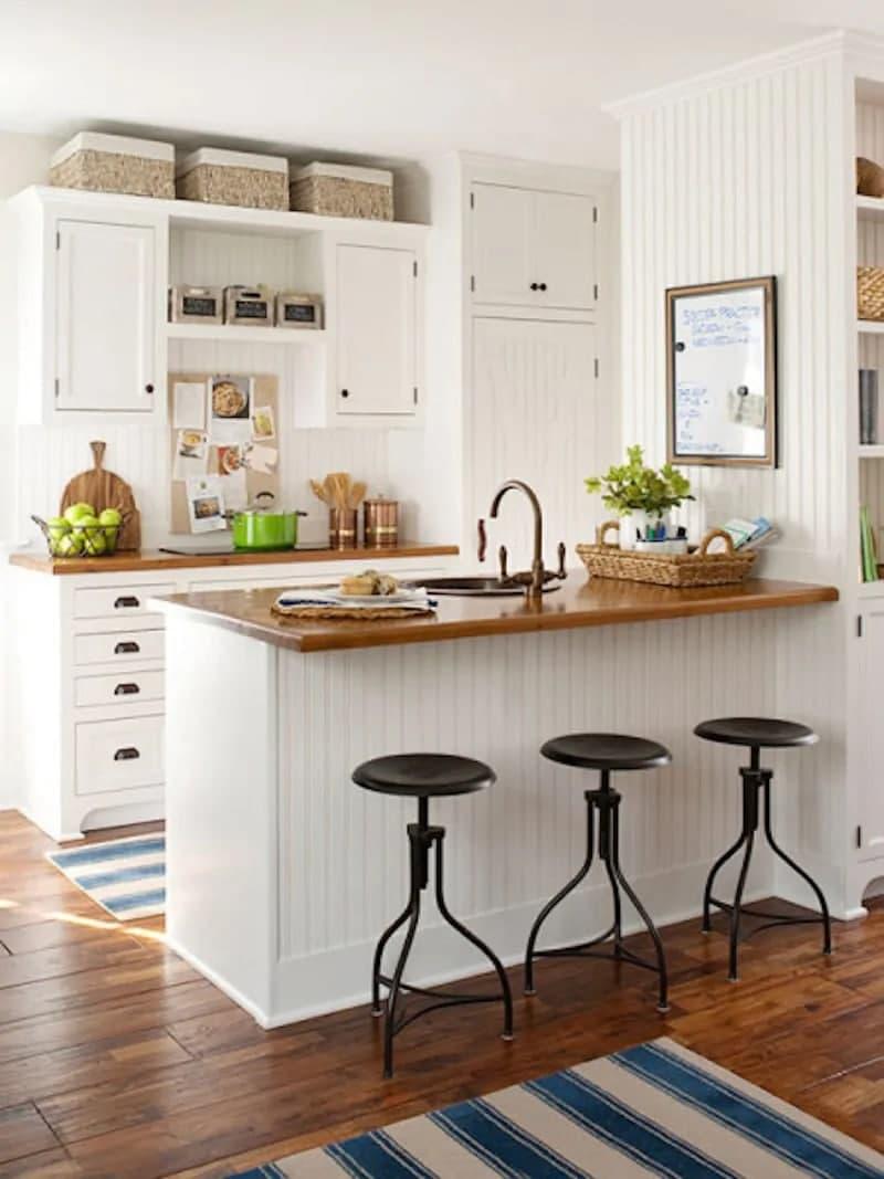 استفاده از سبد برای دسته بندی در آشپزخانه