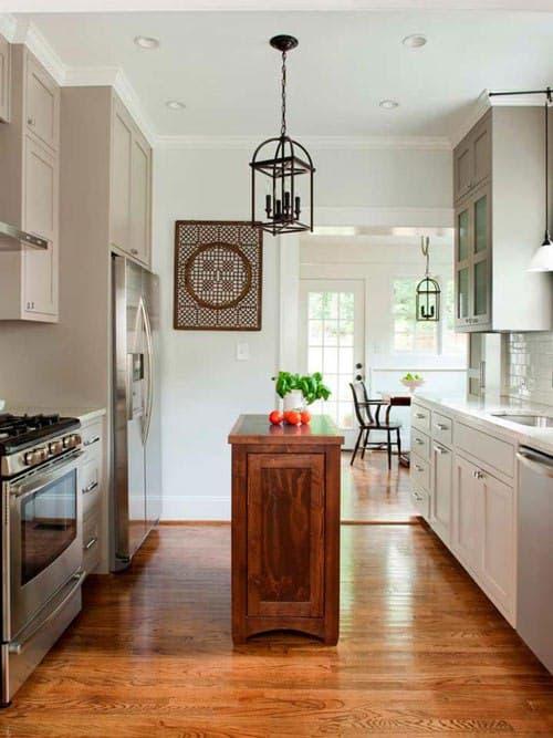 ایده های مختلف جزیره آشپزخانه ی منزل