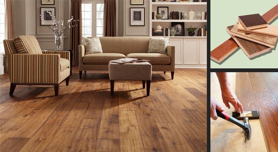 راهنمای انتخاب کفپوش چوبی یا طرح چوب مناسب برای منزل
