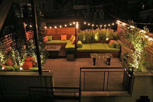 مشاوره برای نورپردازی فضاهای باز