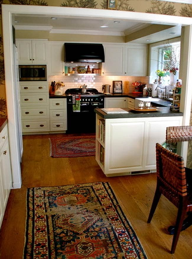 نقش اپن در آشپزخانه های کوچک
