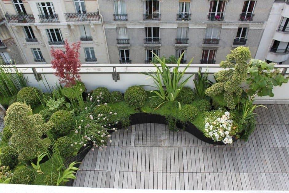 مشاوره ی طراحی فضای سبز بالکن های کوچک