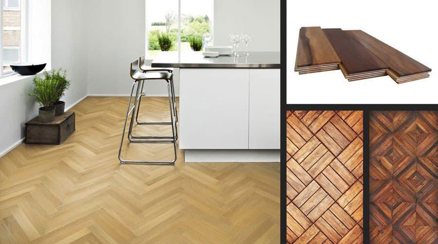 انواع کفپوش های چوبی و طرح چوب برای منزل