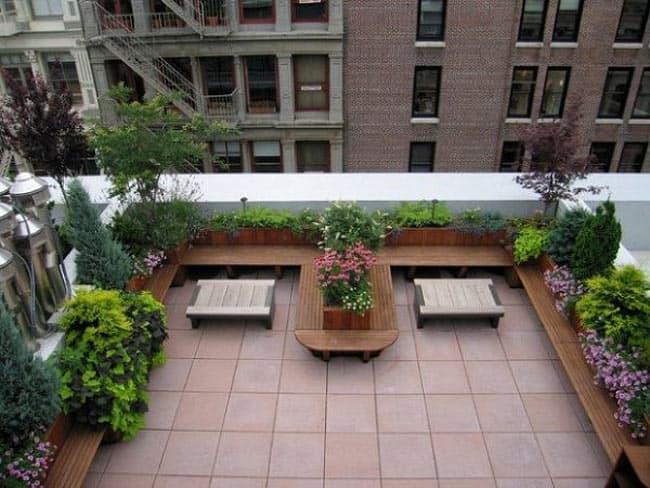 مشاوره آنلاین معماری دیزاین بالکن و پشت بام