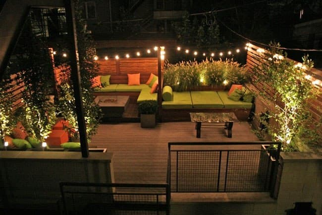 مشاوره آنلاین معماری در طراحی حیاط پشت بام