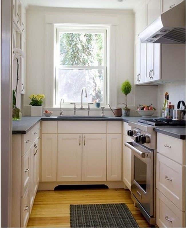 ایده هایی برای بزرگتر نشان دادن آشپزخانه کوچک